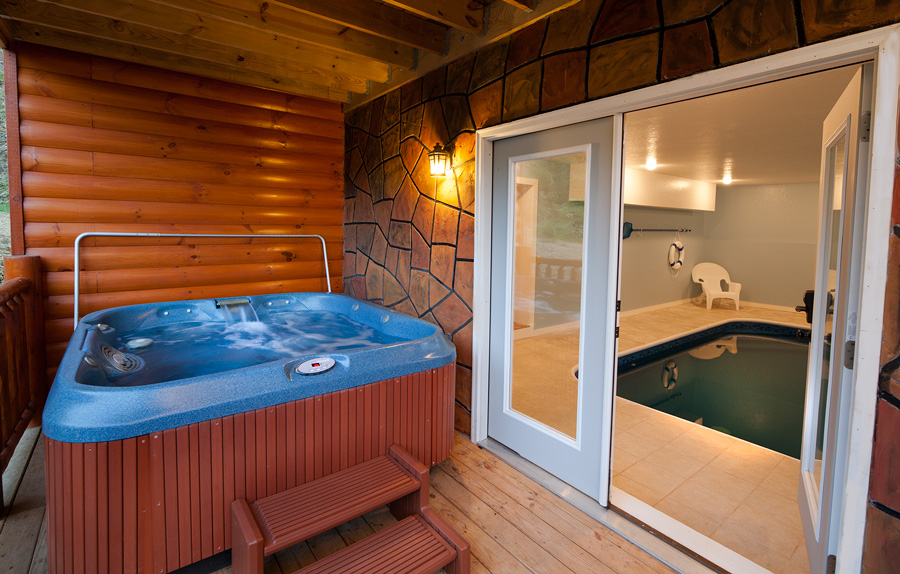 Pigeon Forge Cabin Rentals Pool Cabin