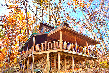 Honey Bear Pigeon Forge Cabin